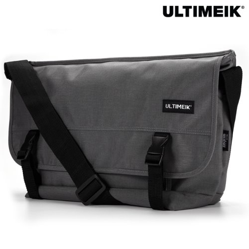 1607 Large Messenger Bag Grey